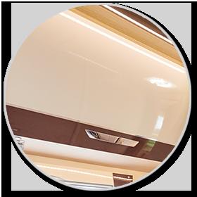 <strong>LED Innenbeleuchtung:</strong><br> Energiesparend und mit guter Lichtausbeute erhellen die LED-Leuchten den Innenraum zuverlässig und effizient.