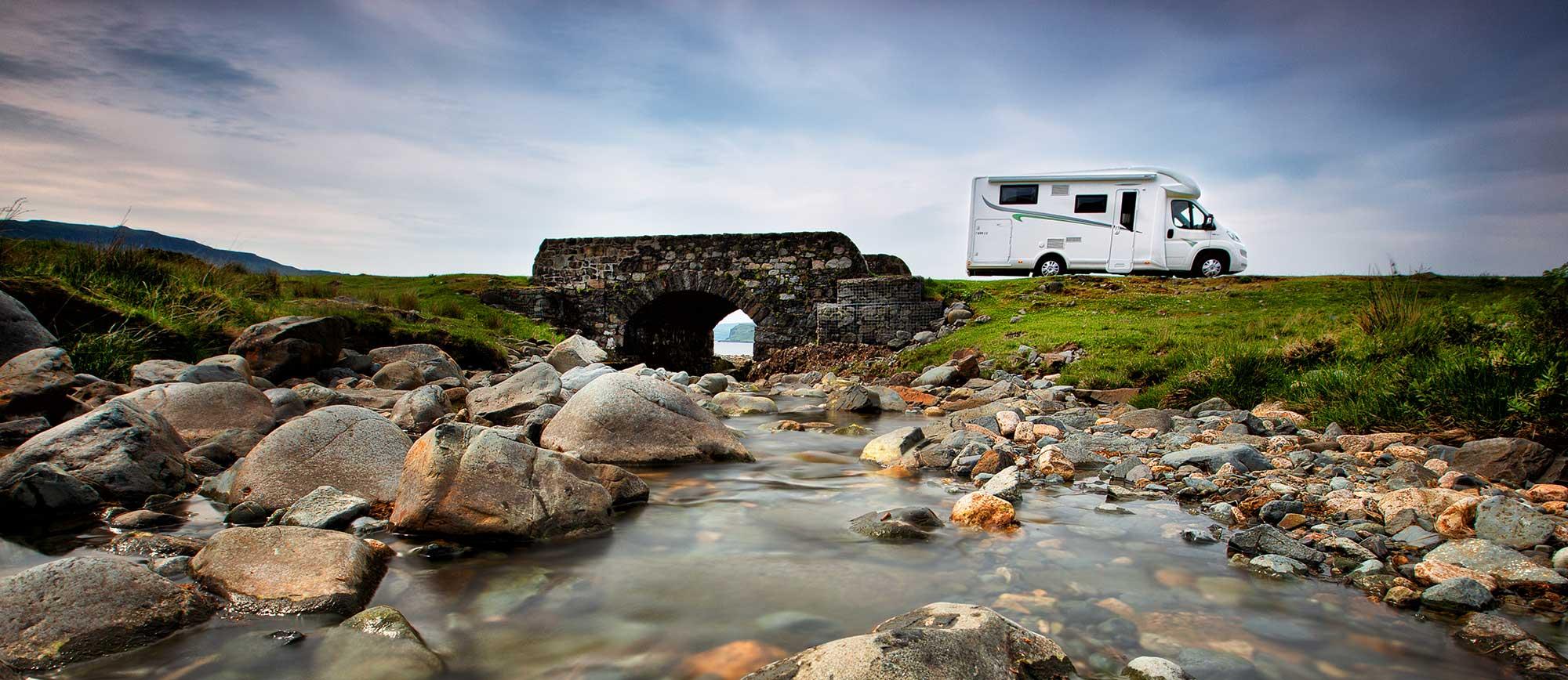 Forster Wohnmobile - Unterwegs in Schottland