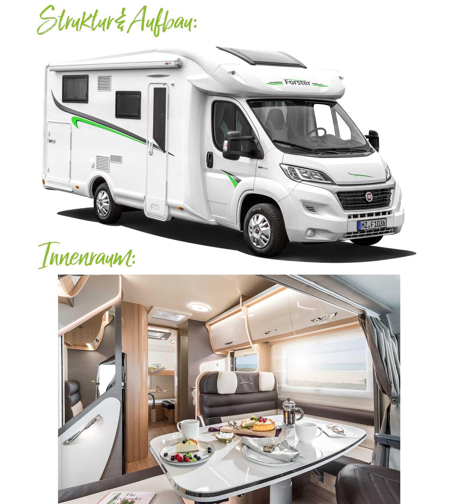 Unsere Wohnmobile haben viele Qualitäts- & Ausstattungsvorteilen