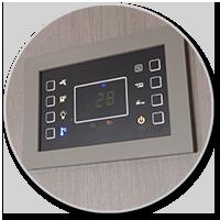Touchscreen-Panel für die Bordtechnik
