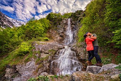 Reisebericht Österreich Wasserfall